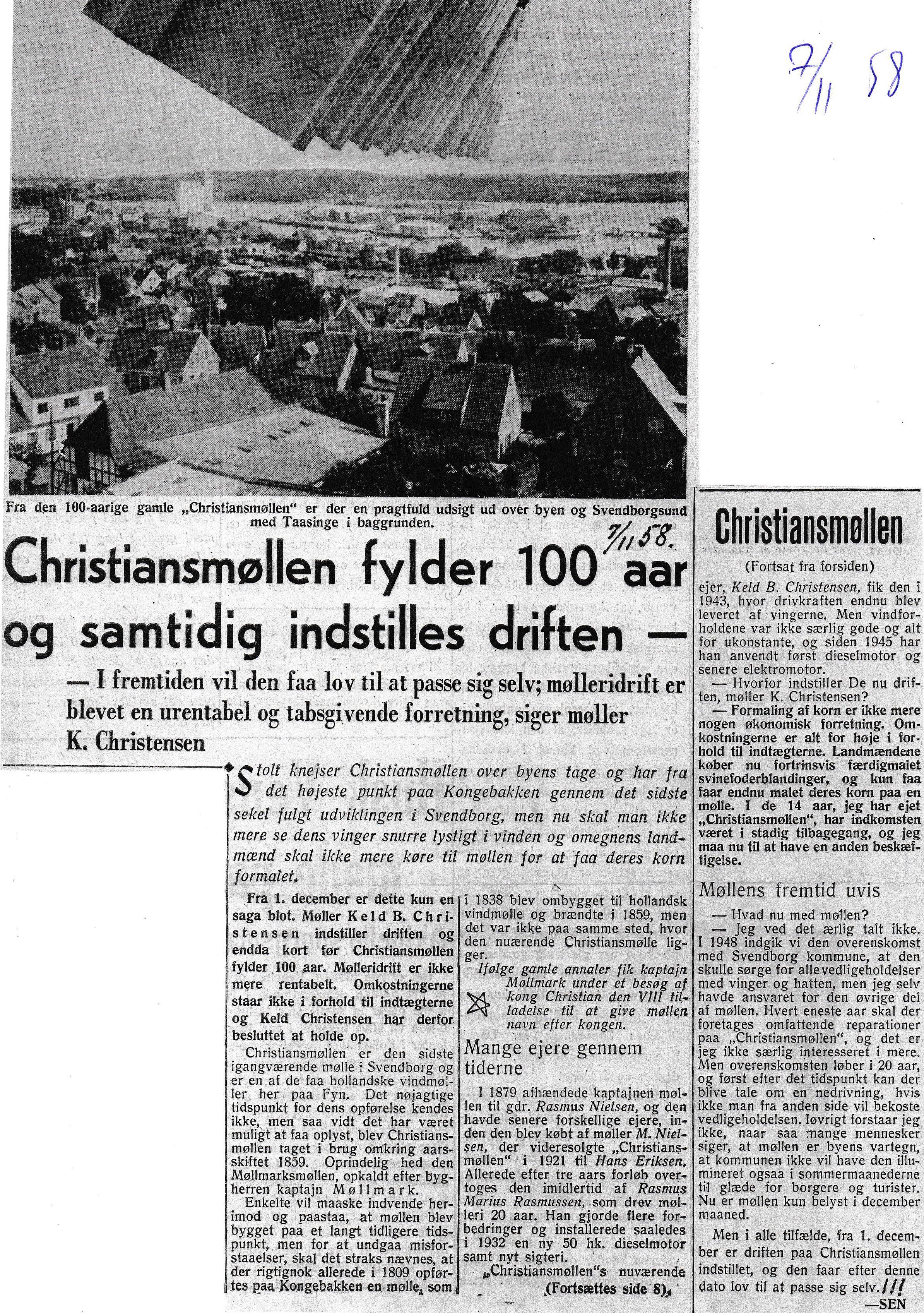 1958-11-07-chr-moelle-100-aar