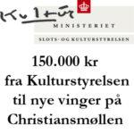 150.000 kr fra Kulturstyrelsen